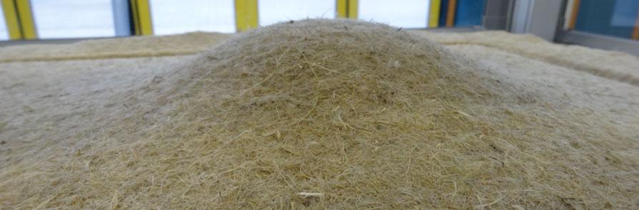 Materialprüfung für Fasermatten